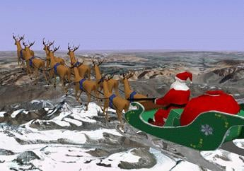For kids who can't wait for Santa to arrive, the North American Aerospace Defense Command has a Christmas treat.