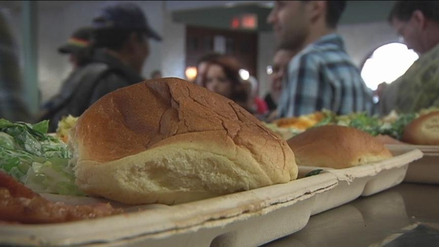 The Union Gospel Mission in Yakima is serving meals filled with cheer to those in need Wednesday.