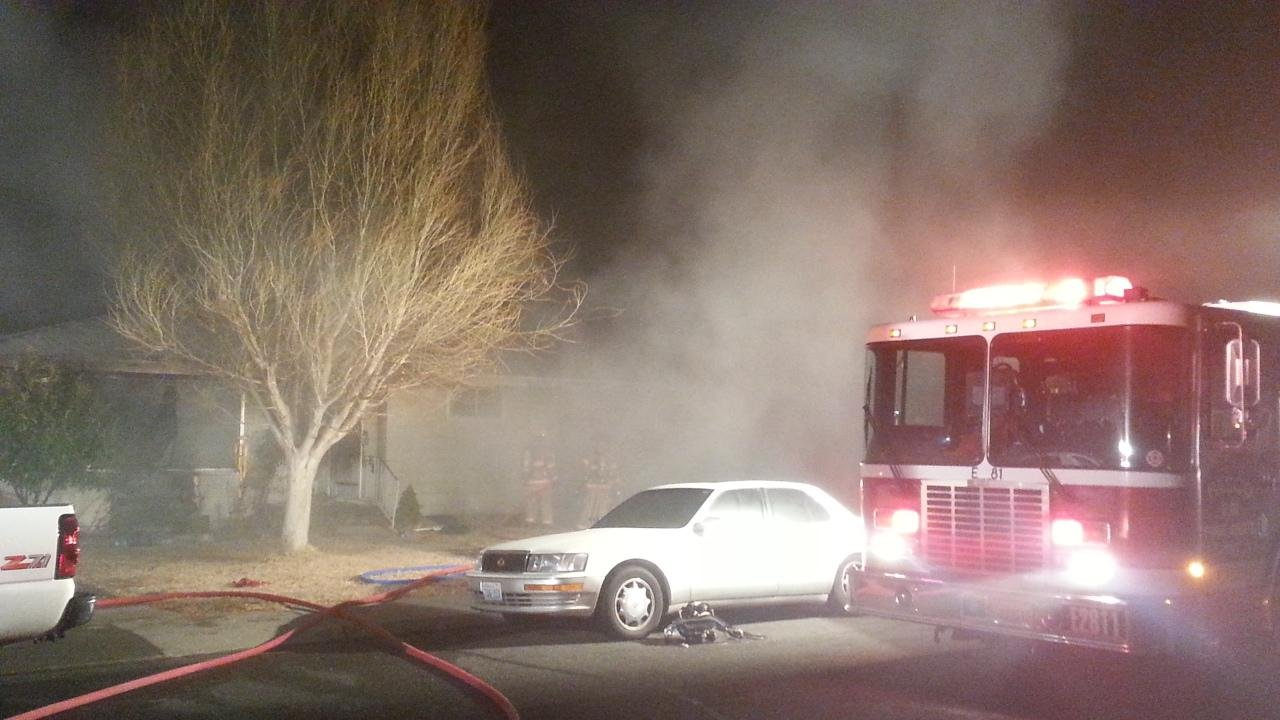 Pasco firefighters are investigating what sparked a two alarm fire on the 1900 block Ruby Street Thursday evening.