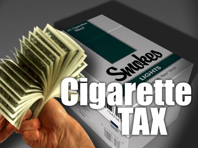 The tax on cigarettes in Oregon goes up 13 cents on January 1st.