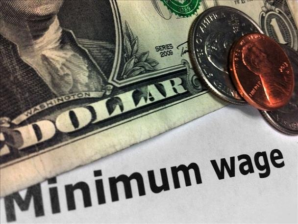 The state Bureau of Labor and Industries says about 98,000 workers in Oregon will get a pay raise when the minimum wage goes up from $8.95 to $9.10 on January 1st.