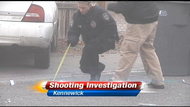 Kennewick police are investigating a shooting that happened Saturday around 8:45am on the 6200 block of West Albany Court.