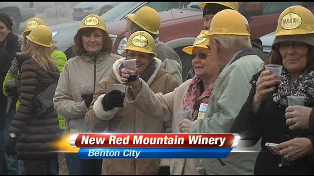The local wine industry continues to step up its game. On Red Mountain a new tasting room will soon be up and running.
