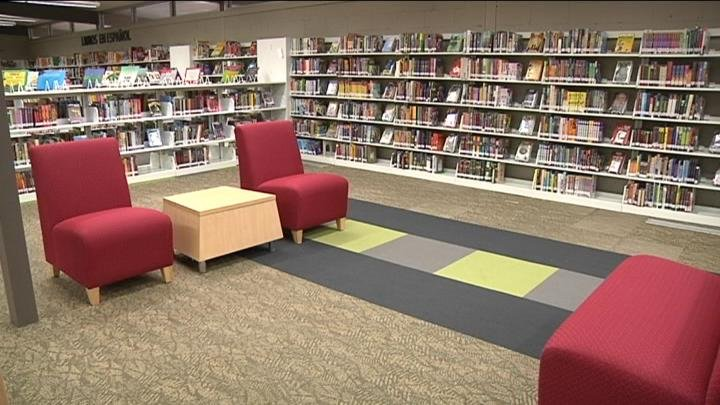 NBC Right Now got a look inside the newly remodeled Pasco branch of the Mid-Columbia Library system across from Memorial Park Tuesday morning.