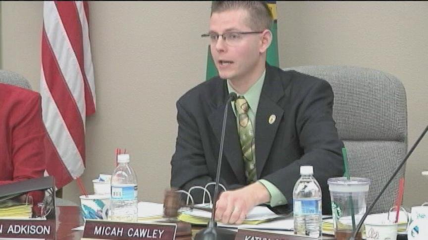 Mayor Micah Cawley is facing a tough vote to be re-elected to his third term at the head of the Yakima City Council.