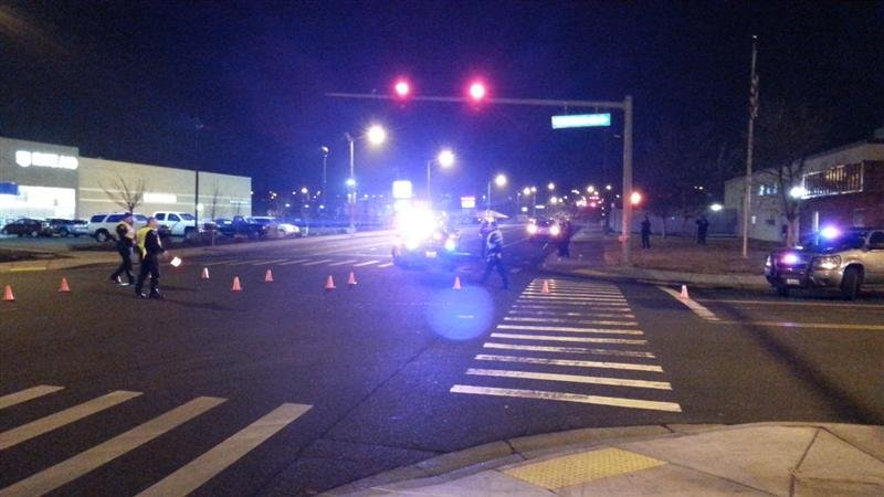 Richland Police say a pedestrian hit Thursday night in the intersection of Lee boulevard and Stevens drive has died.