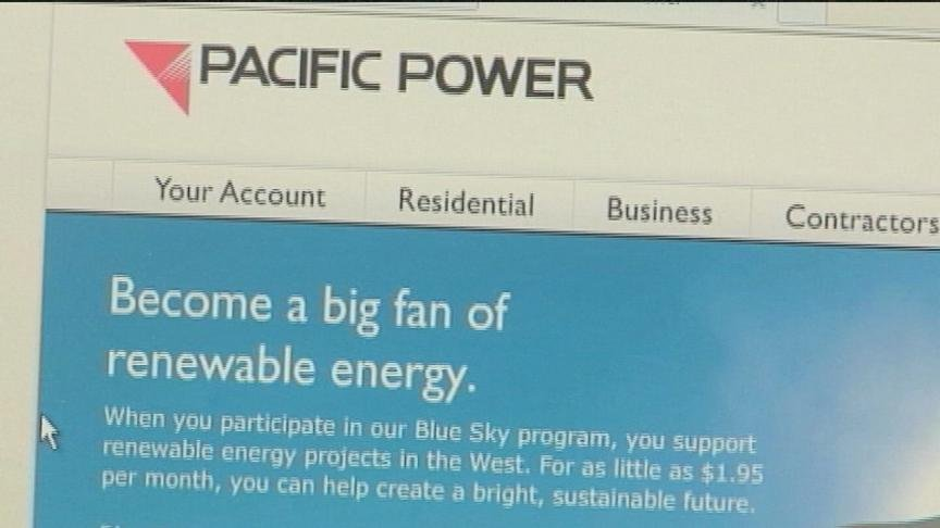 Pacific Power is using the new year to encourage customers to save energy.