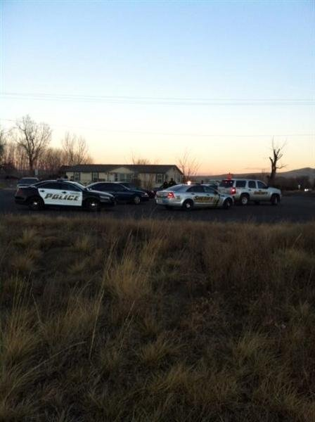 The man involved in a stand-off with law enforcement in Selah is now dead.