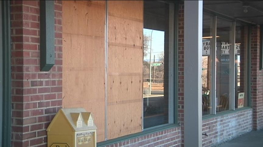 Smashed windows, broken glass, every business owners nightmare.