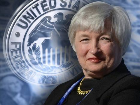 The Senate has easily approved Janet Yellen's nomination to head the Federal Reserve.