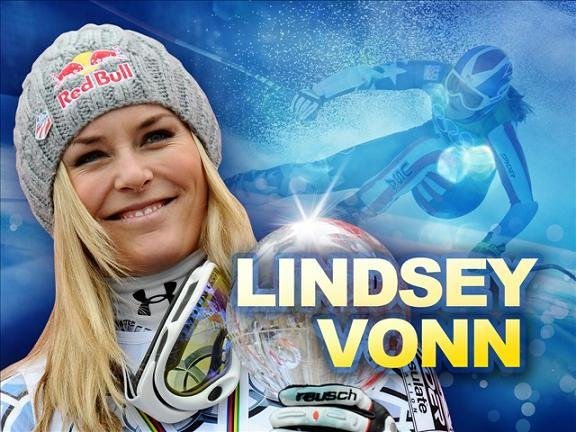 Lindsey Vonn is going to skip the Sochi Olympics because of a right knee injury.
