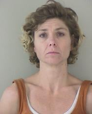 Investigators say Brandie Chapman, 41, was originally charged with multiple counts of theft and possession of meth.