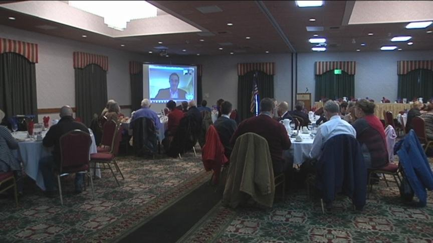 Several groups in Yakima County joined together to hear a man speak about the legalization of marijuana.
