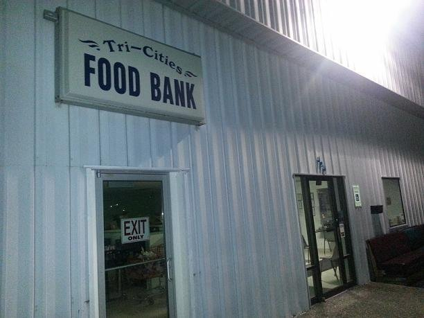 A transient from Kennewick faces burglary charges after police say they caught him inside the Tri-Cities Food Bank.