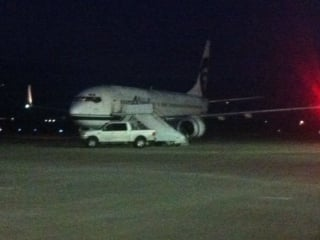 Alaska Airlines confirmed flight 619 headed from Las Vegas to Portland Thursday night ended up having to land in Yakima due to equipment failure and foggy weather.