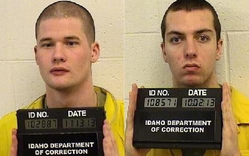 Caleb Joe Thomas (left) and Ridge Scott Dains (right)