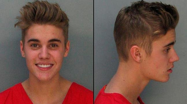 Police in Miami Beach, Florida, say 19-year-old pop singer Justin Bieber has admitted to drinking alcohol, taking prescription medications, and smoking marijuana before officers arrested him early Thursday morning.