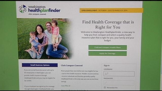 Since the exchange opened in October, most of the newly insured signed up as individuals.