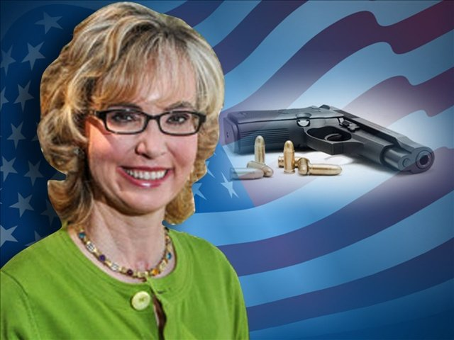 Gabrielle Giffords testified Tuesday in Olympia on an initiative that would require background checks on all firearm sales in Washington.