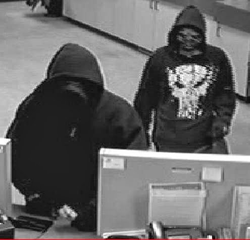 Richland police release photos of the suspects accused of robbing the Numerica Credit Union along Fowler St. in Richland last Friday.