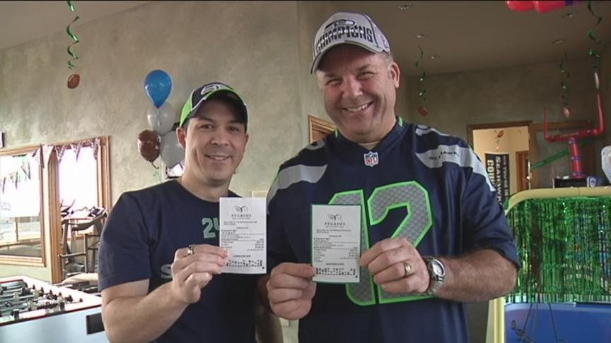 One Yakima Valley family is cashing in after the Seahawks big Super Bowl victory.