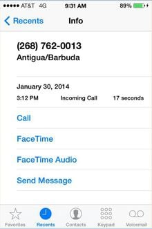 Scammers are placing thousands of calls to random mobile numbers around the United States.