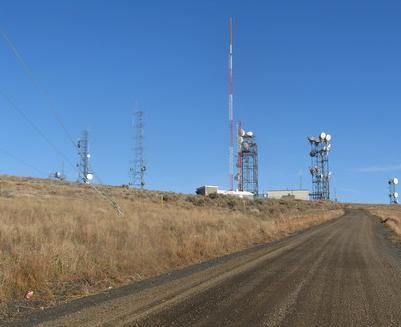 Transmitter Towers on Jump Off Joe