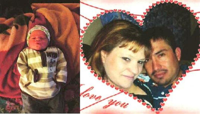 Baby and Mother, Roshell Marie Turner