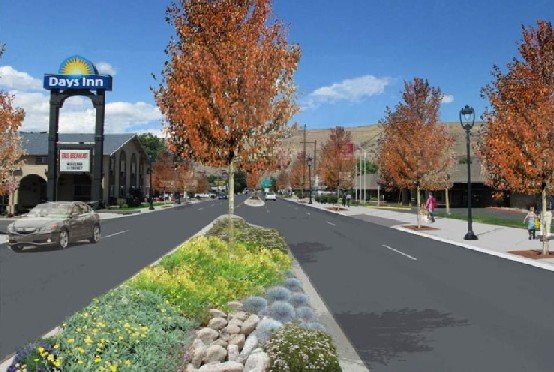 Tuesday night, the Yakima City Council talks about the new design plan for North First Street.
