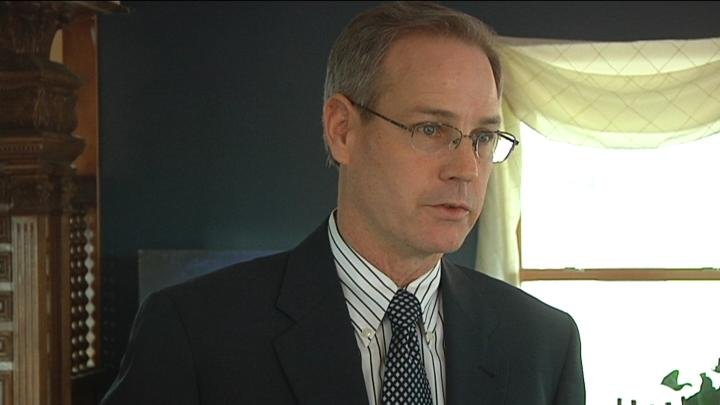 Franklin County Commissioner Brad Peck announced he wants to enter the race to fill Congressman Doc Hastings' Position.