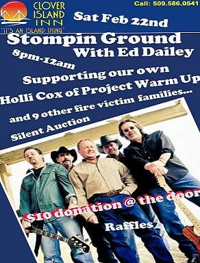 Friends and volunteers of Project Warm-Up are holding a benefit concert for the families who lost their homes last week in the Lakeside Apartment fire in Kennewick.