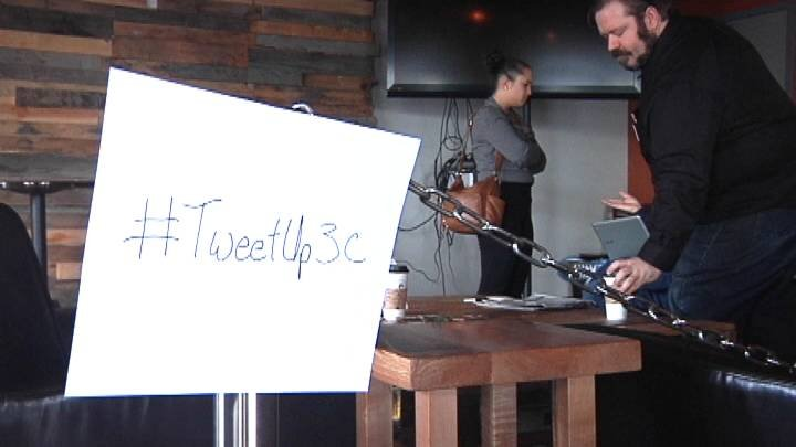 Sharehouse Coffee in Richland was all a twitter Saturday. A local twitter user hosted what is called a 'tweetup'.