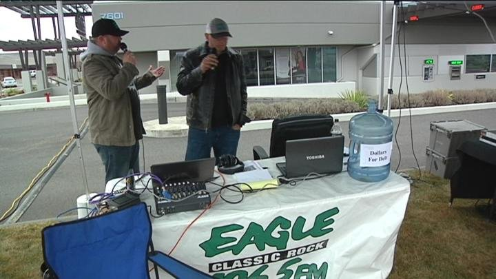 The Eagle 106.5 and Hapo Community Credit Union teamed up Sunday for a good cause.