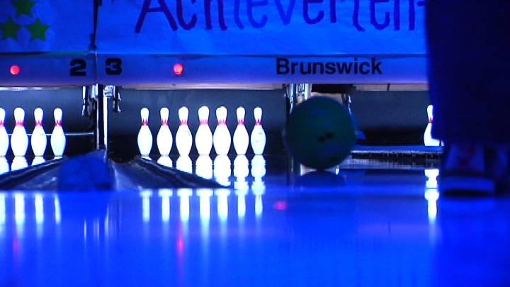 A week of bowling for a good cause kicked off Monday at Spare Time Lanes in Kennewick.
