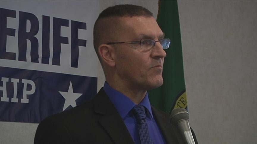 A lieutenant in the Yakima County Sheriff's Office said he's ready for the next challenge. Brian Winter formally announced Tuesday that he's running for sheriff.