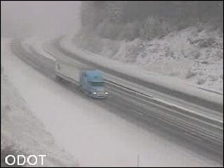Oregon Transportation Department officials say extreme fog and hazardous driving conditions including black ice have prompted them to close a long stretch of Interstate 84 in northeast Oregon.