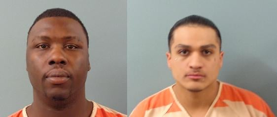 28-year-old Jerome Martel Price, (pictured left) 23-year-old Javier Noe Martinez, (pictured right)
