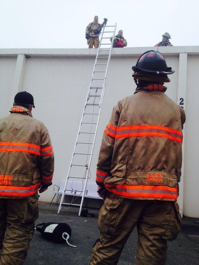 Firefighters never know when they'll be called out or to what. That's why training is so important.