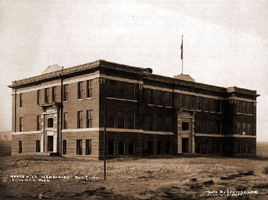 The first Kennewick High School building was built in 1911. A far cry (or roar, rather) from what it is today.