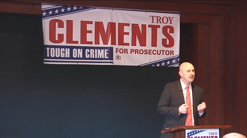 There's a second candidate in the race for Yakima County Prosecutor. Troy Clements announced Friday he's joining the race.