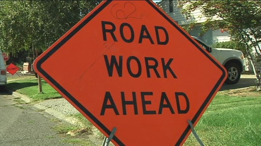 A project to widen 64th Avenue between Nob Hill Boulevard and Tieton Drive is expected to last until June.