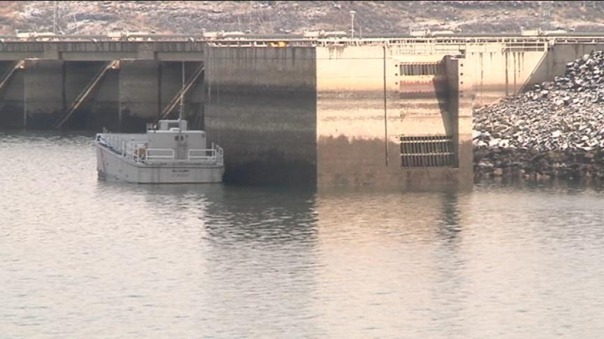 Grant PUD says 65-foot crack at Wanapum Dam is closed