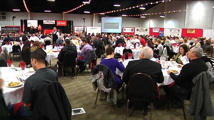 More than 500 people came to the TRAC in Pasco Thursday morning to recognize people in our community who have done heroic acts.