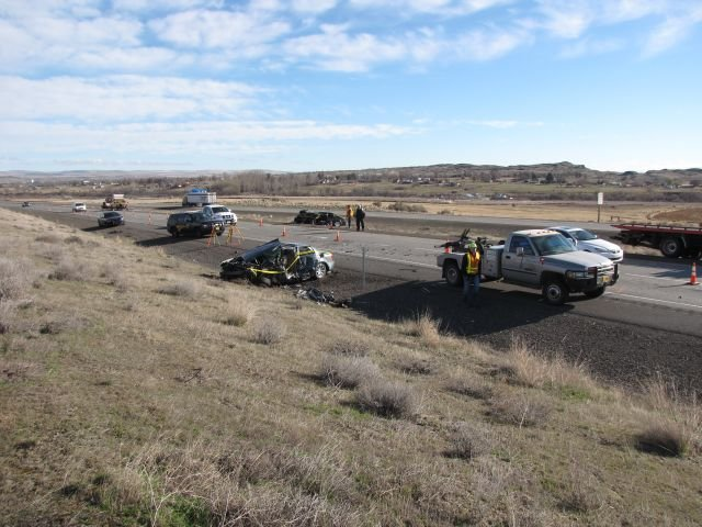 Oregon State Police have released the name of the man killed along I-82 Friday morning near Hermiston.