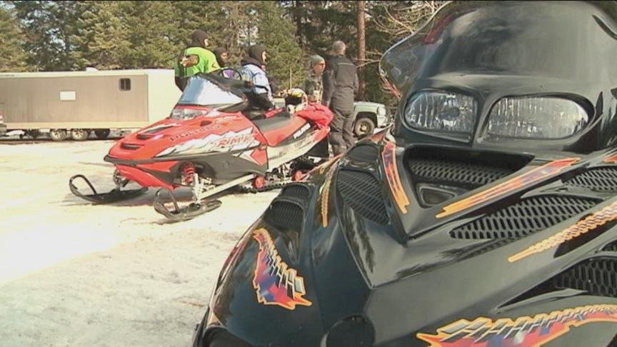 Some local military members in Yakima took the day off to play in the snow on Friday.