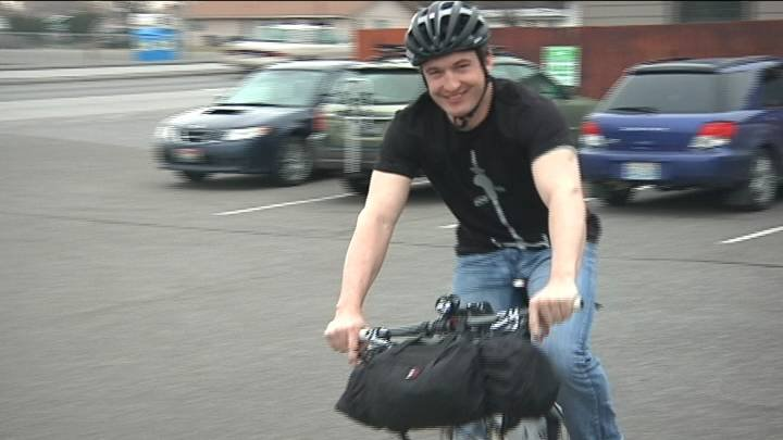 20 days on a bike. That is what one local man is about to tackle, but he is not just doing it for the challenge.