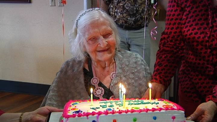 1912. That's the year Millie Synoground was born, and the Richland woman celebrated her 102nd birthday today.