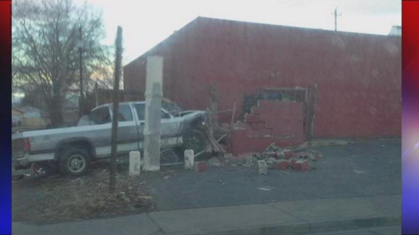 Yakima police caught two suspects involved in a hit and run Monday morning.