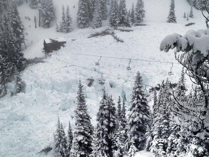 Ski areas routinely trigger avalanches to control the snowpack before skiers and snowboarders arrive, but this time it got a little bit out of hand.