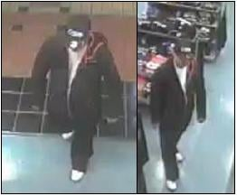 Kennewick police are looking for a man involved in a robbery at the T-Mobile Store at the Columbia Center Mall.